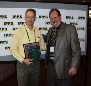 Paul Cappiello, left, and Brian Decker, Recognition Committee Chair